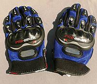 Перчатки PRO-BIKER (синие)