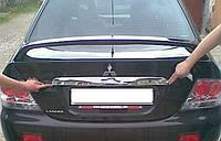 Накладка над номером Mitsubishi Lancer 9