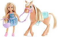 Кукла Barbie Игровой набор Челси и пони, фото 2