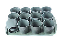 Набор для рассады стаканы со съёмным дном 12шт. + поддон