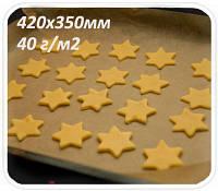 Пергамент бурого цвета в пачке 40 г/м2 420х350 мм
