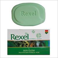 Мыло на основе лечебных индийских трав, против сыпи и прыщей «Rexel»