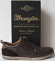 Wrangler туфли Мужские классические демисезонные ботинки кожа Вранглер
