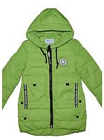 Куртка-парка демисезонная для девочки на тонком холлофайбере