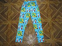 Цветные лосины для девочки  9 лет Турция хлопок