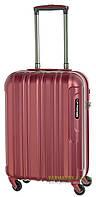 Дорожный чемодан из поликарбоната на 4-х колесах (малый) March Cosmopolitan 5003 красного цвета