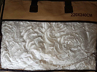 Покрывало двуспальное двойное 220x240