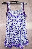Ночная рубашка с рюшами Турция хлопок размер 46