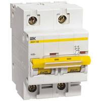 Выключатель автоматический IEK ВА47-100 2p D 10A 10kA MVA40-2-010-D