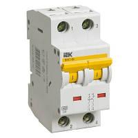 Выключатель автоматический IEK ВА47-60 2p D 6A MVA41-2-006-D