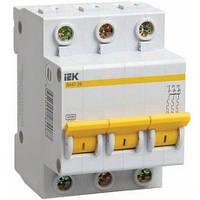 Выключатель автоматический IEK ВА47-29 3p D 1А MVA20-3-001-D
