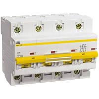 Выключатель автоматический IEK ВА47-100 4p D 10A 10kA MVA40-4-010-D