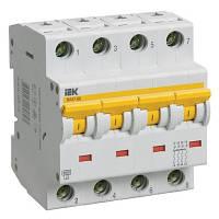 Выключатель автоматический IEK ВА47-60 4p D 6A MVA41-4-006-D