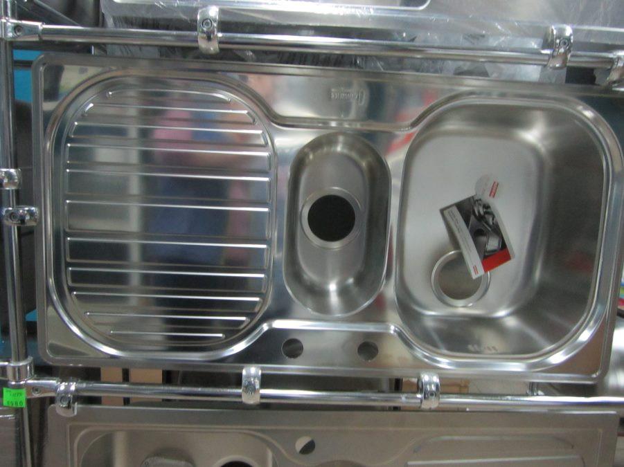 Мойка кухонная из нержавеющей стали Franke CPX 651