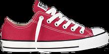 Женские кеды Converse All Star высокие бордовые топ реплика, фото 3