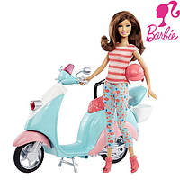 Набор кукла Барби Тереза на скутере / Barbie - Glam Scooter with Teresa Doll