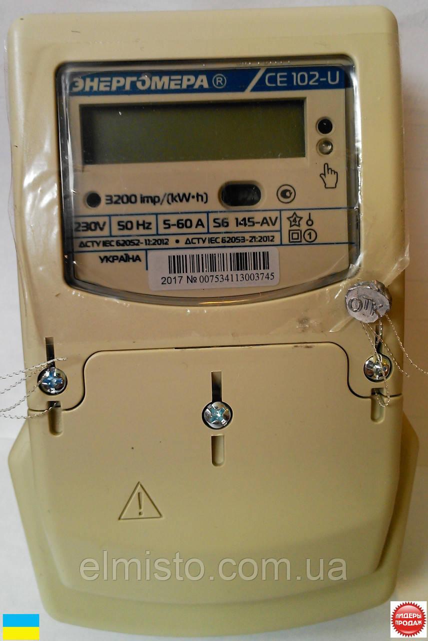 инструкция к электросчетчику энергомера се102