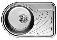 Germece Кухонная стальная мойка Germece 66 х 44 L микродекор