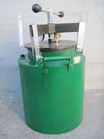 Автоклав зеленый средний (газ, винт)