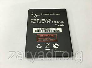 Аккумулятор FLY BL7203, IQ4413, FLY IQ4405, FLY IQ4403, EVO CHIC 1, 2000 mAh, Original/АКБ/Батарея/Батарейка/Флай