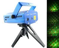 Mini Laser stage lighting YX-6A (YX-6B) – мощный лазерный проектор для дискотек / Декоративное освещение