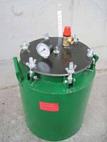 Автоклав зеленый средний (газ, барашки)
