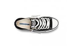 Кеды Converse All Star низкие черно-белые топ реплика, фото 2