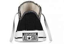 Кеды Converse All Star низкие черно-белые топ реплика, фото 3