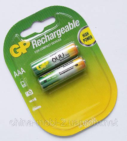 Акумулятор AAA GP NiMH 600 mAh, фото 2
