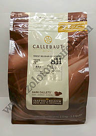 """Черный шоколад 54,5 % какао 10 кг (811NV-595) ТМ """"Barry Callebaut Belgium"""""""