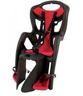 Сиденье задн. Bellelli PEPE Standart Multifix до 22кг, серое с красн подкладкой