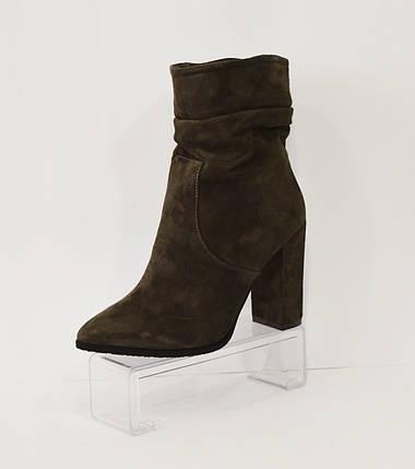 Серые женские ботинки Nivelle, фото 2
