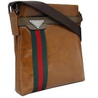 Глянцевая модная сумка 540840 / Мужская сумка