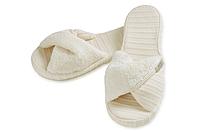Тапочки Fula від Hamam ivory розмір 38-39