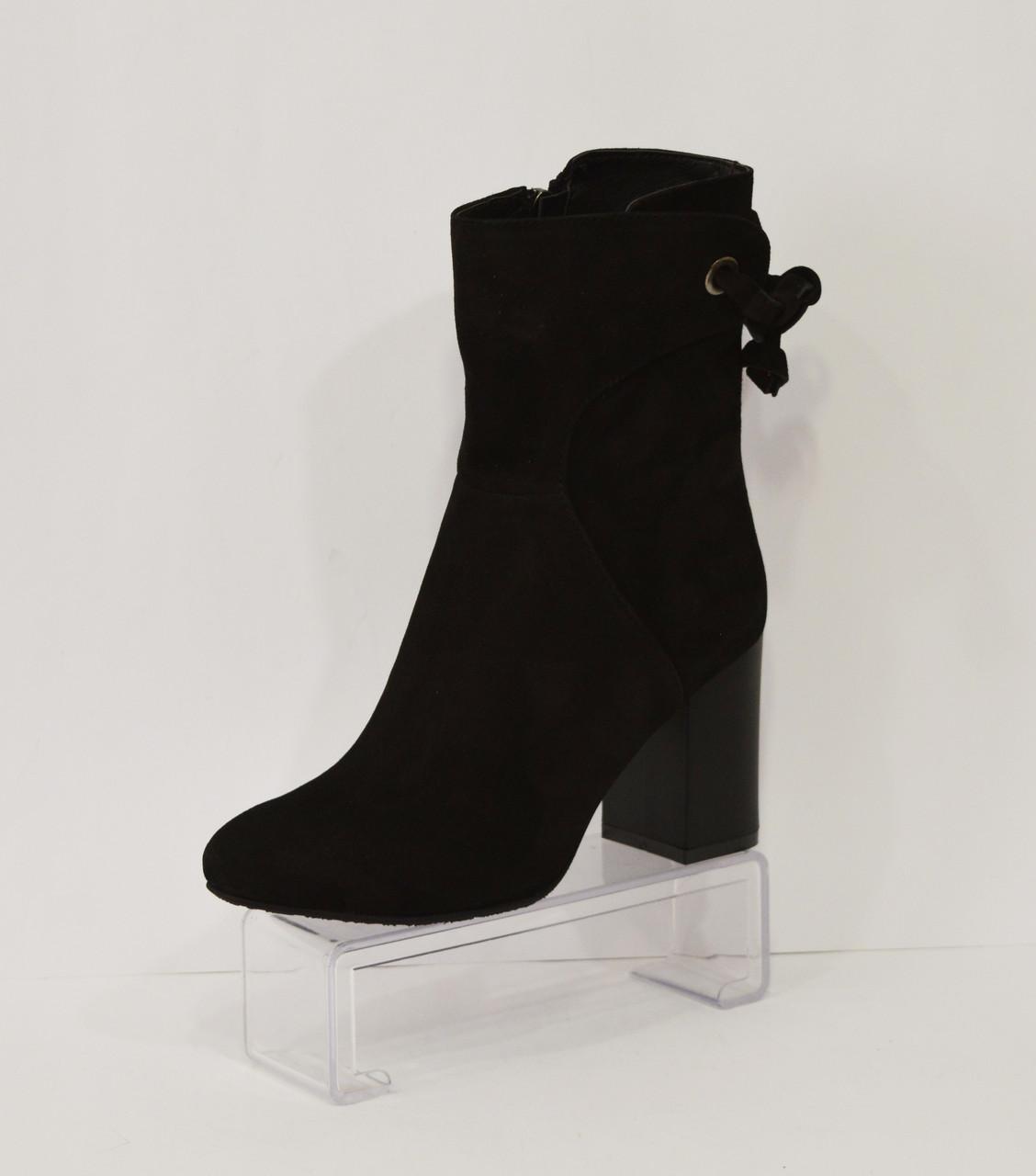 Женские замшевые ботинки Nivelle 5312