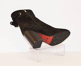 Женские замшевые ботинки Nivelle 5312, фото 2