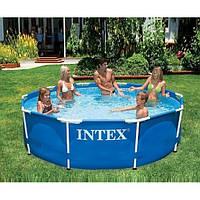 Каркасный бассейн intex , 305х76 см