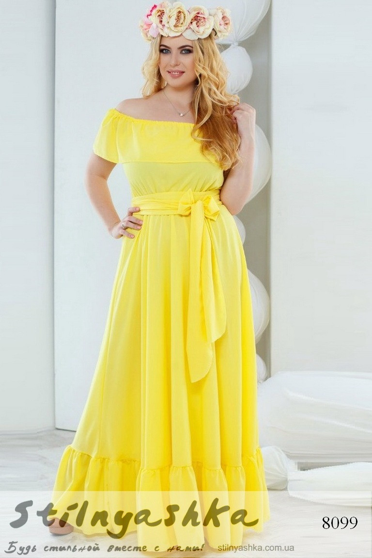 Платья больших размеров купить розница