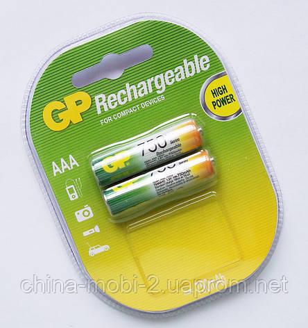 Акумулятор AAA GP NiMH 750 mAh, фото 2