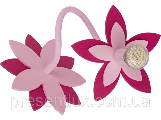 Светильник FLOWERS PINK -6893