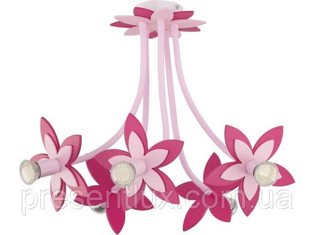 Люстра FLOWERS PINK -6896