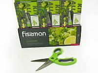 Кухонные ножницы из нержавеющей стали универсальные 23см Fissman (PR-7654.SR)