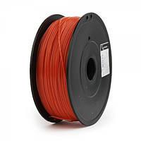 Пластиковый материал филамент gembird ff-3dp-abs1.75-02-r для 3d-принтера abs 1.75 мм красный
