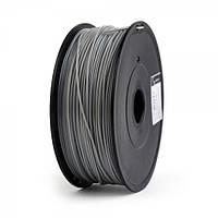 Пластиковый материал филамент gembird ff-3dp-abs1.75-02-gr для 3d-принтера abs 1.75 мм серый