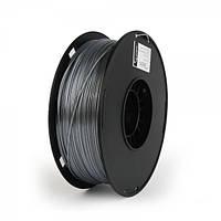 Пластиковый материал филамент gembird 3dp-ps1.75-01-s для 3d-принтера polymer silk 1.75 мм серебро