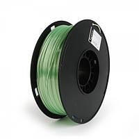 Пластиковый материал филамент gembird 3dp-ps1.75-01-g для 3d-принтера polymer silk 1.75 мм зелёный