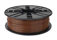 Пластиковый материал филамент gembird 3dp-pla1.75-01-wd для 3d-принтера pla 1.75 мм дерево
