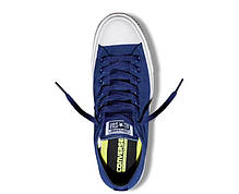 Кеды Converse All Star II Low Chuck Tailor Lunarlon синие топ реплика, фото 2