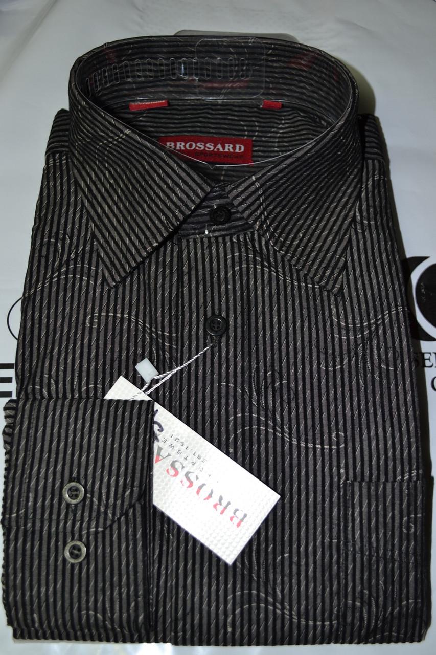 Классическая рубашка BROSSARD (размеры 39,40,41,43)
