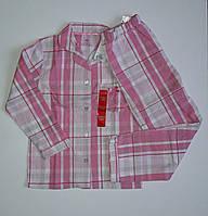 Пижама для девочек в клеточку розовая от Primark